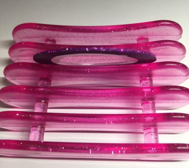 Striping Tape Roll – Glitter Purple