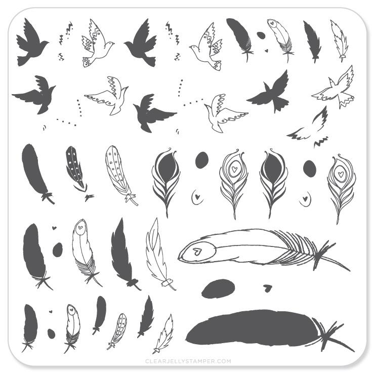 Plate Small- Birds Of a Feather