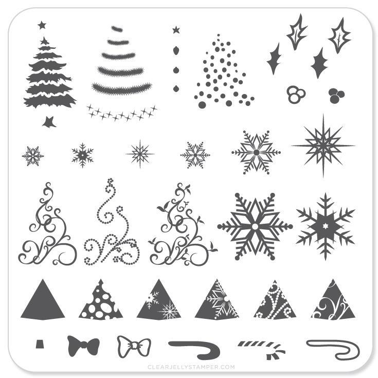 Plate Small-Christmas Tree
