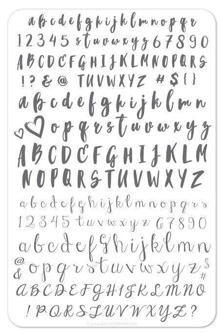 Plate Large-Alphabet Brush