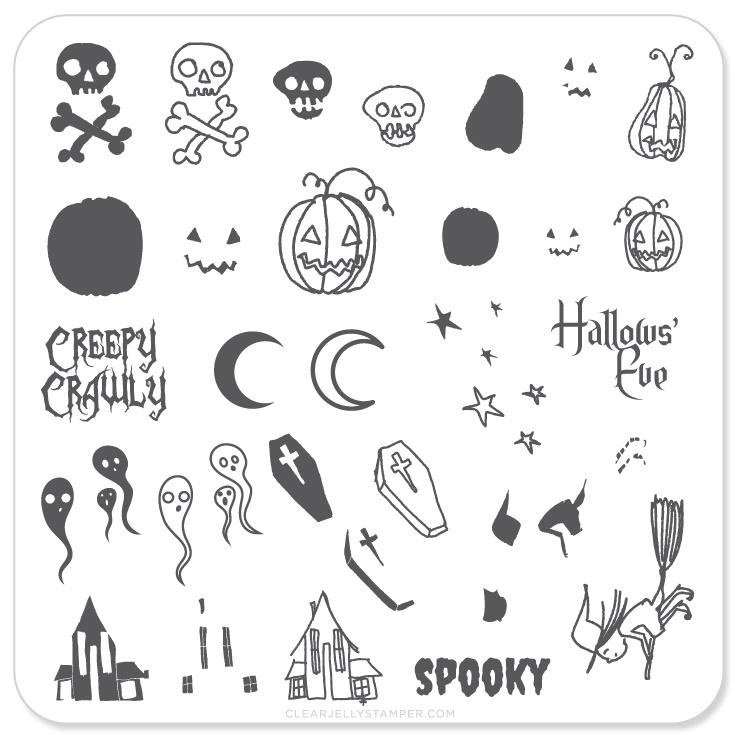 Plate Small-Spooky