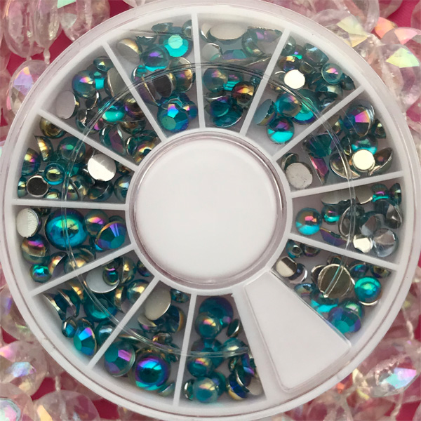 MIX Wheel Bubble Teal 300pcs