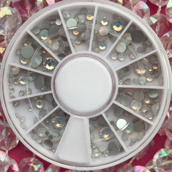 MIX Wheel Matte Clear 240pcs