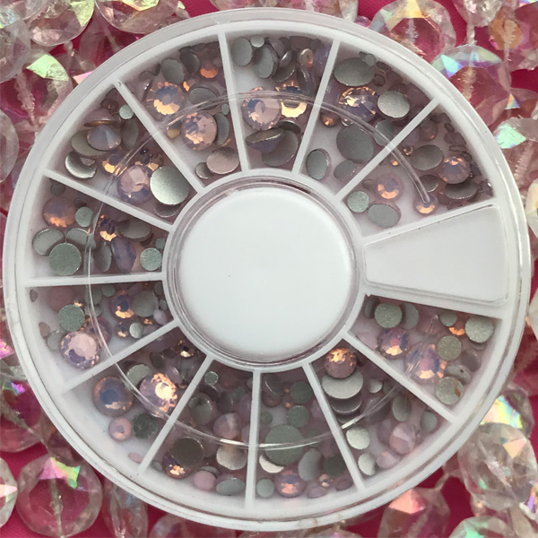 MIX Wheel Matte Pink 240pcs