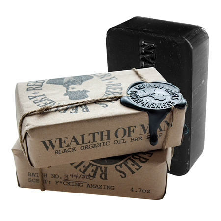 Wealth of Man Bar Soap