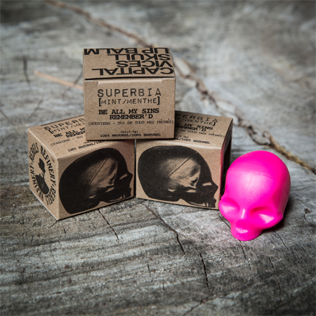 Capital Vices Skull Lip Balm