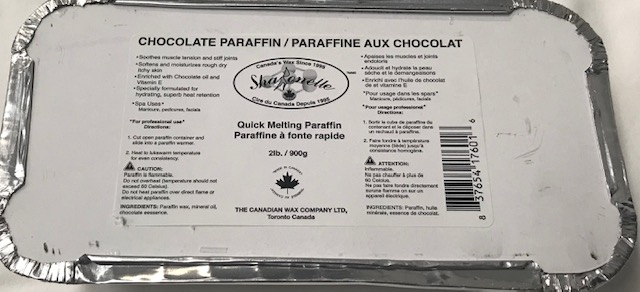 Sharonelle Professional Paraffin Swiss White Chocolate  2lb