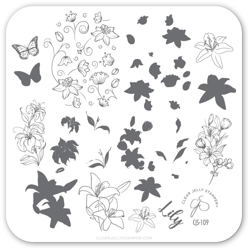 Plate Small-Lovely Lillies