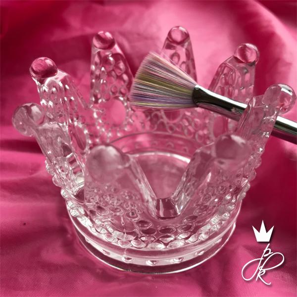 PK Crystal Brush Holder