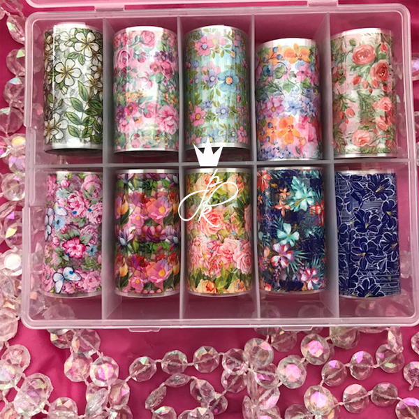 PK Transfer Foil Set #2 Flower Market