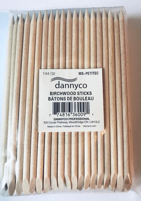 Dannyco Birchwood Sticks Small 144 Pack