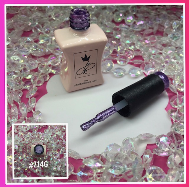 Phat Kat Gel Polish #214 Glitter