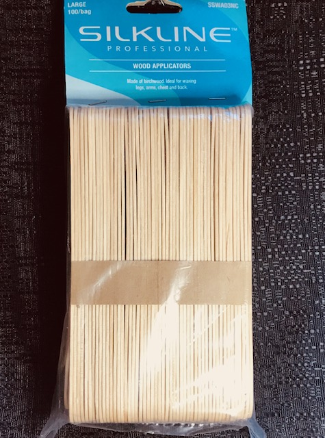 Silkline Waxing Stick Oval Large 100 pack