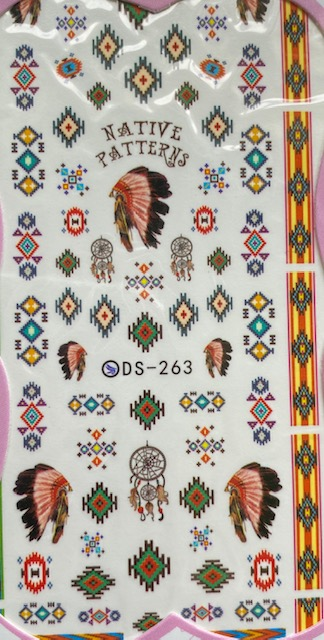 Native American Water Decals