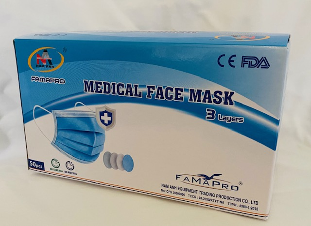 Face Mask Famapro 50pcs