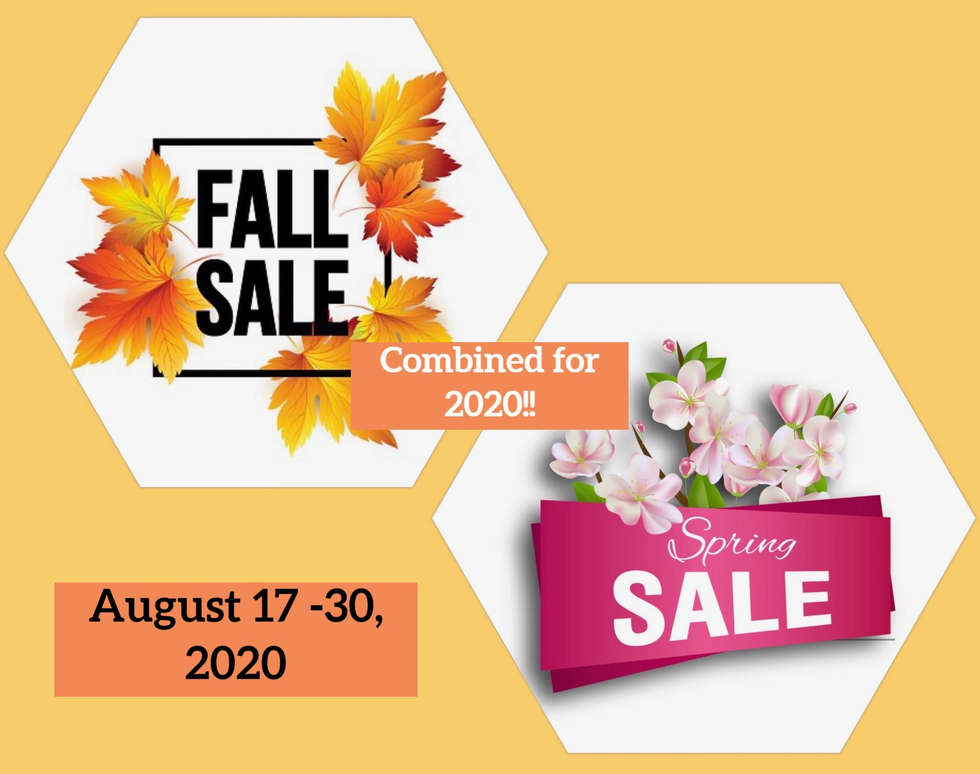 Spring & Fall 2020 Sale