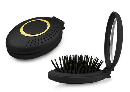 BaByliss Pop-Up Brush with Mirror (limited edition holiday collection)