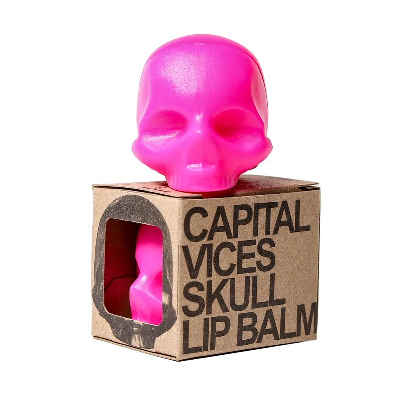 Rebels Skull Lip Balm – Pink Fruit