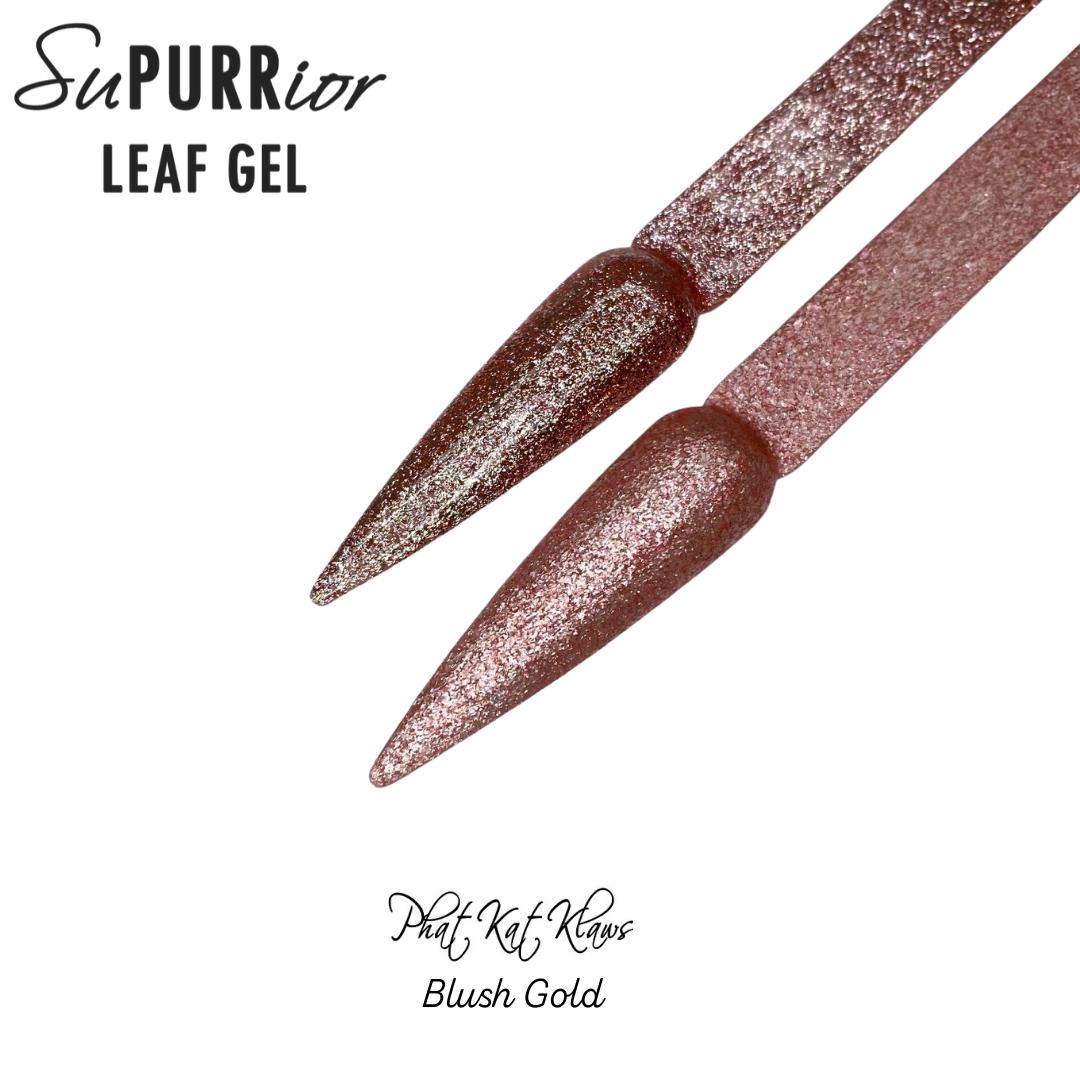 Phat Kat Leaf Gel-Blush Gold 10ml