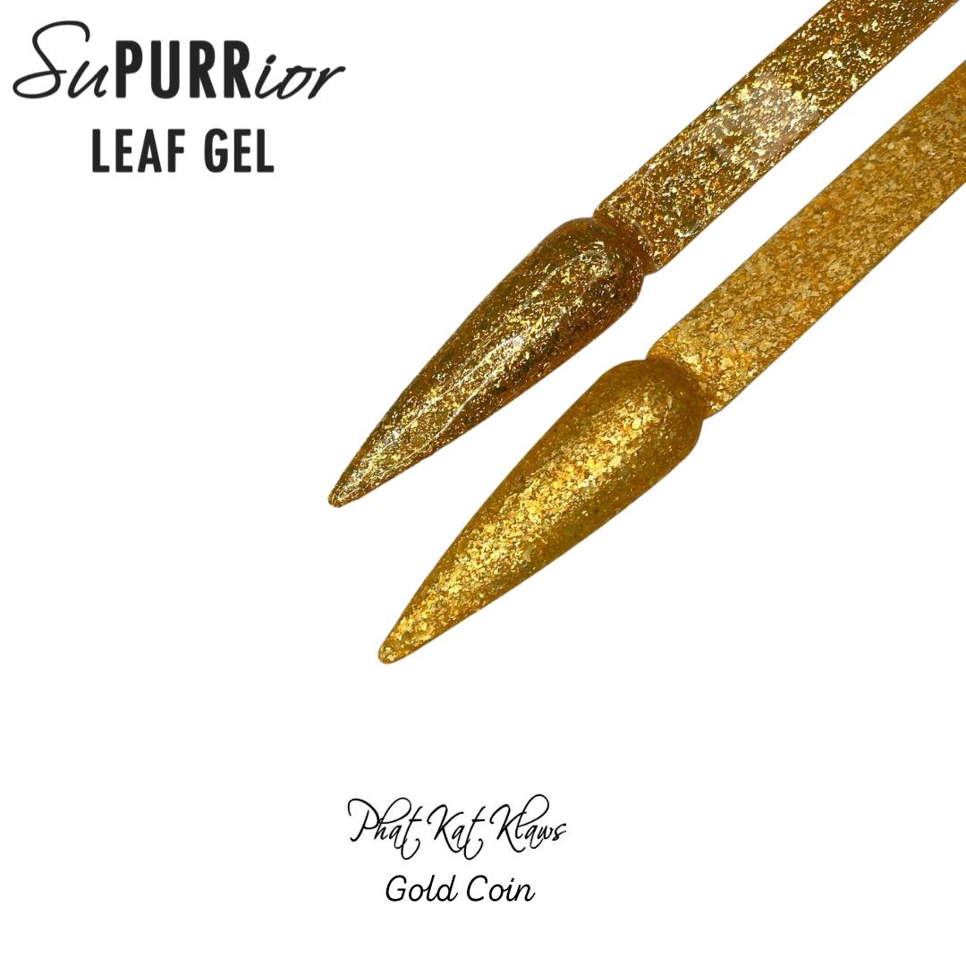 Phat Kat Leaf Gel-Gold Coin 10ml