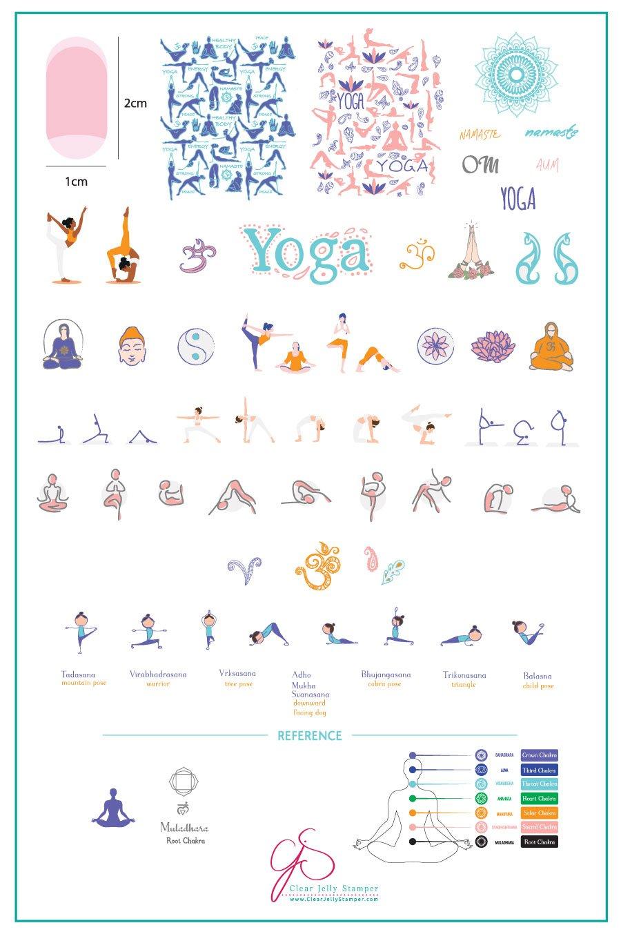 Plate Large – Zen Yoga (184)