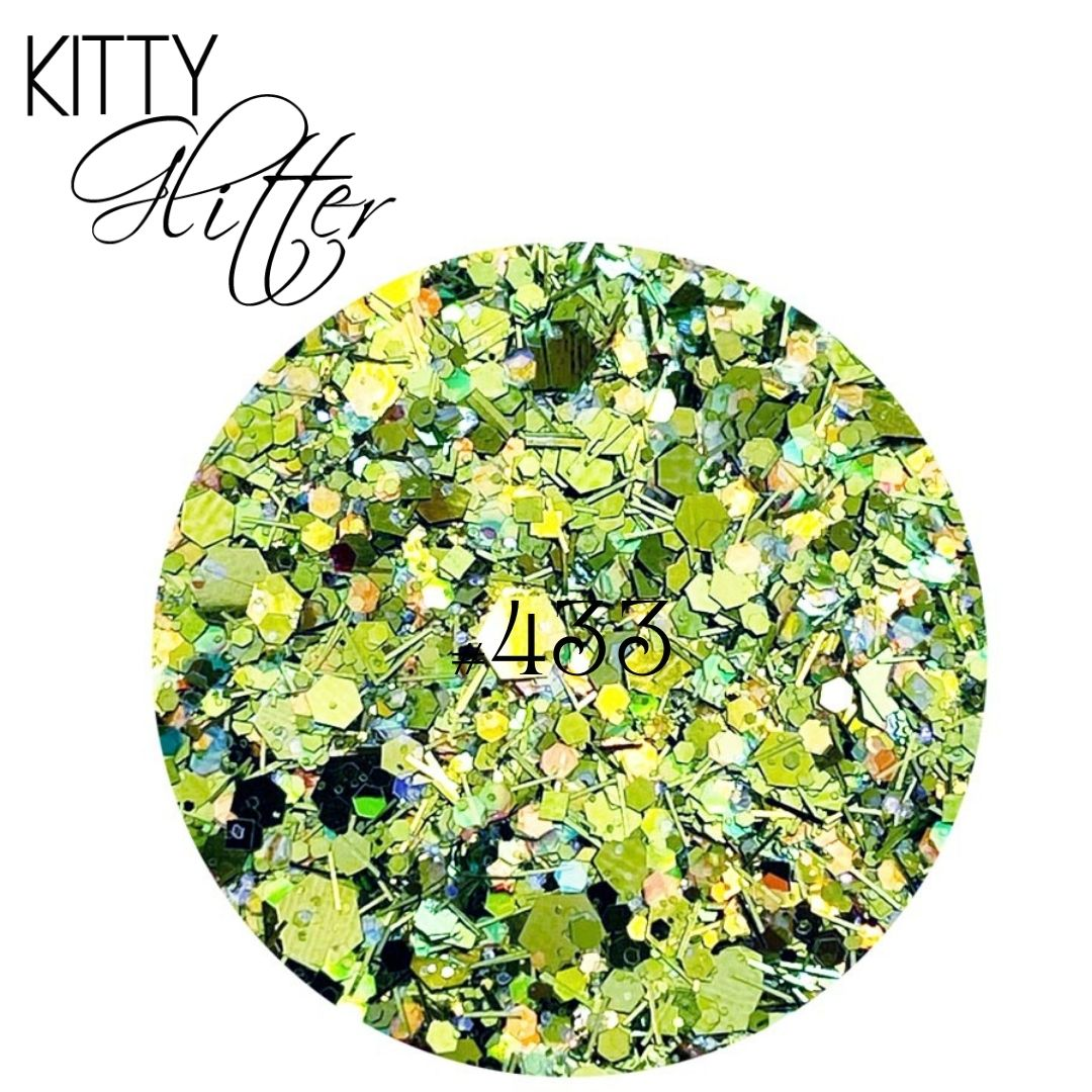 PK Kitty Glitter #433  5g
